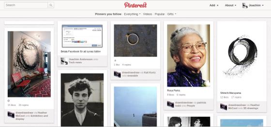 Pinterest och e-handel med hög konverteringsgrad