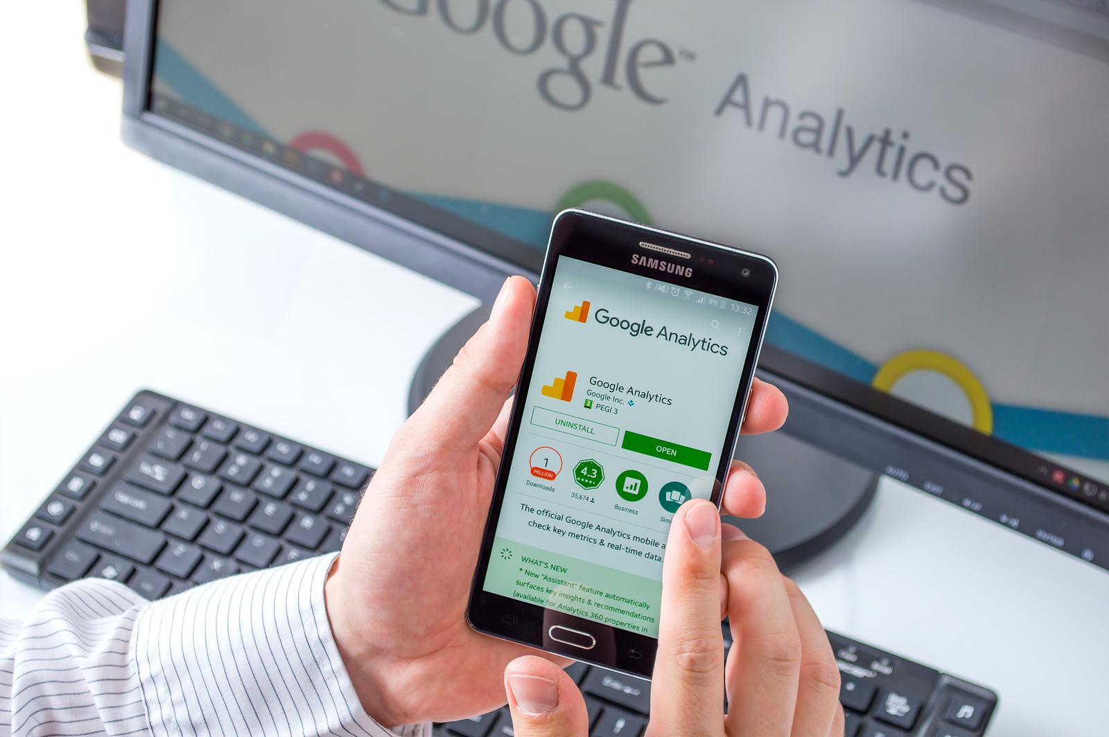 Google Analytics på mobil