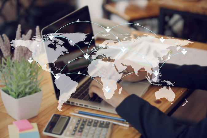 e-handel internationell försäljning