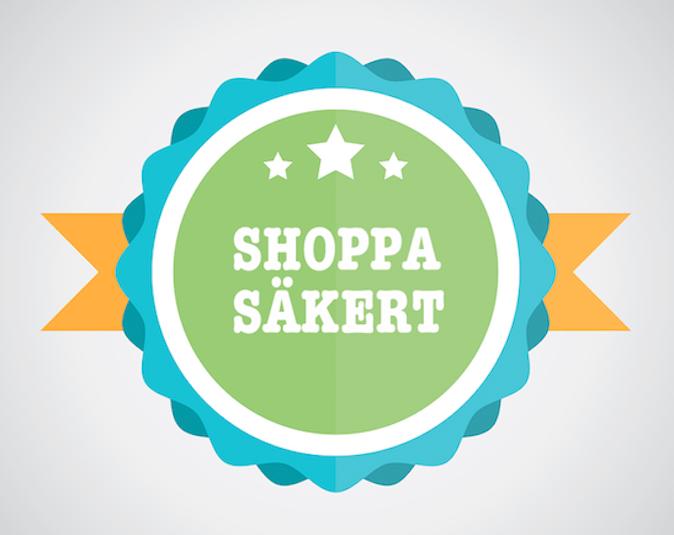 Shoppa säkert med certifiering och omdömen