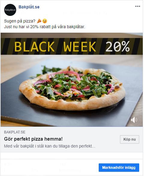 Facebook - Boostat inlägg